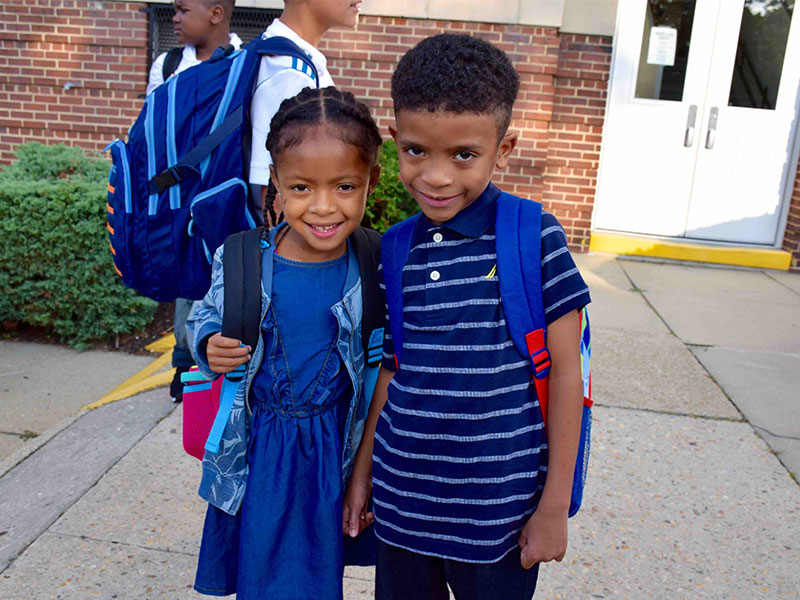 Students Embark on New School Year photo