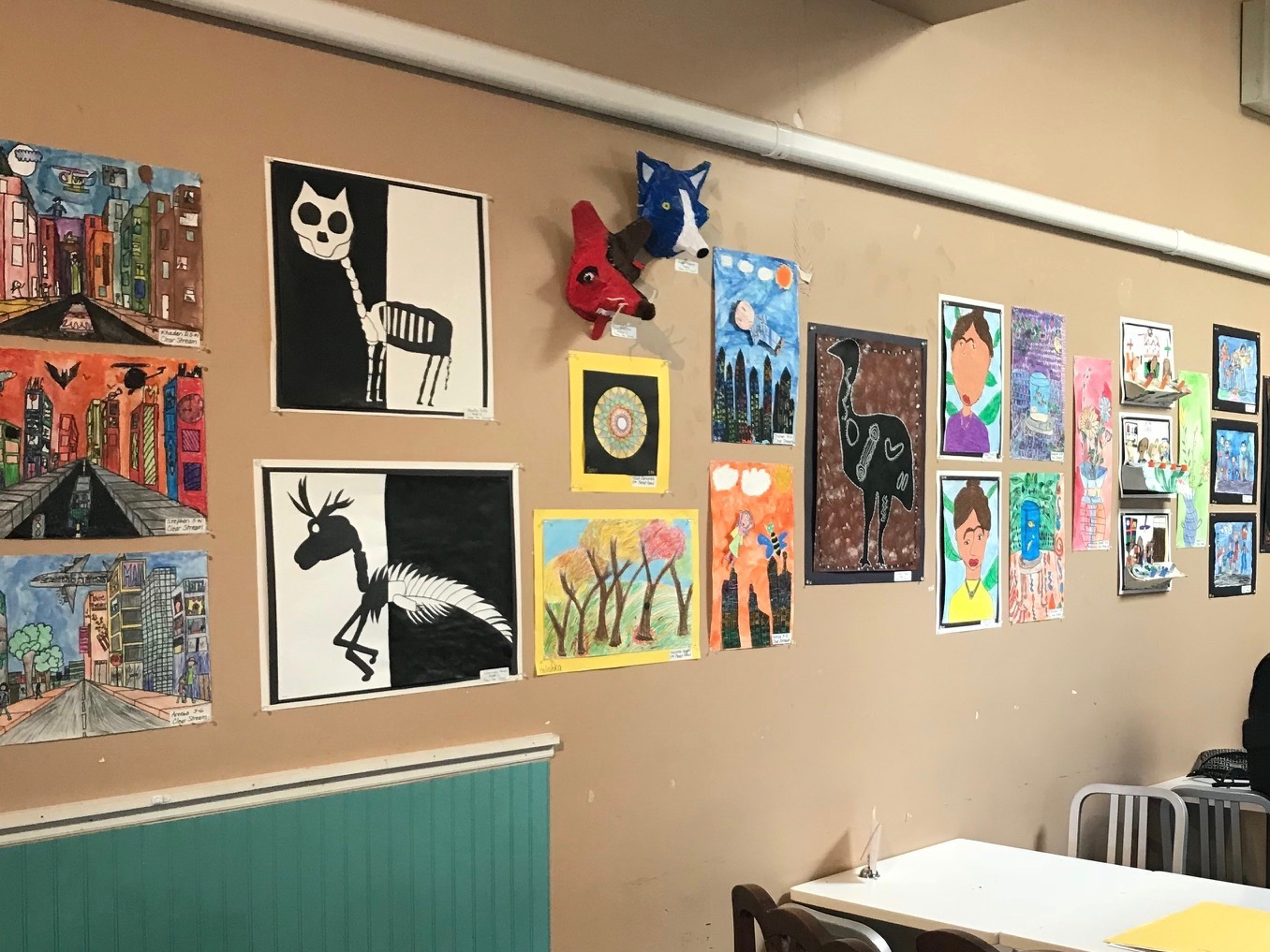 Student Artwork Showcased at Local Coffee Shop Photo 1